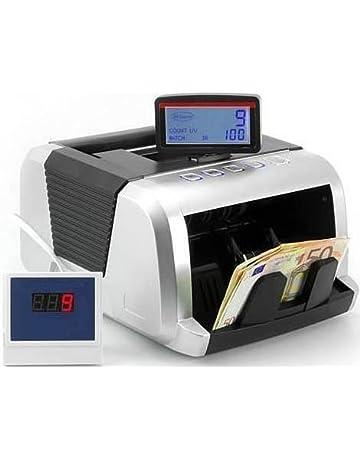 CONTADOR DE BILLETES (Cuádruple detección de billetes falsos UV/MG/MT/IR