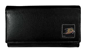 NHL Anaheim Ducks Genuine Leather Women's Wallet