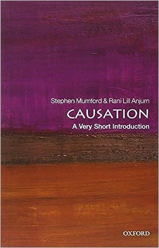 Amazon Causation A Very Short Introduction Introductions 9780199684434 Stephen Mumford Rani Lill Anjum Books