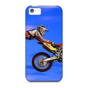 Motocross Superman Case Compatible With Iphone 5c/ Hot Protection Case