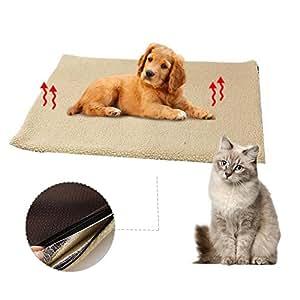 Almohadillas para Mascotas autocalentables Manta para ...