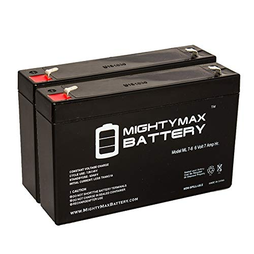 6v 7ah Sla Battery For Huffy Bmw X6 Toy Car Model 17034 2 Pack
