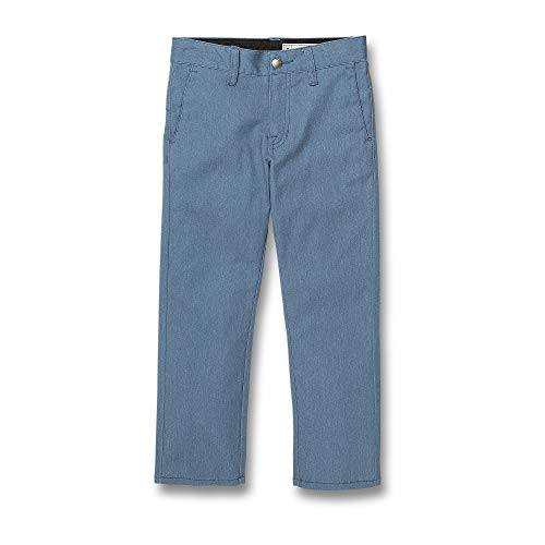 Volcom Little Boys Frickin Modern Stretch Pant, Blue Rinse, 5 (Volcom Big Boys Frickin Modern Stretch Chino Pant)