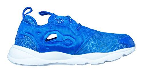 Reebok Classic Furylite Contemporary Zapatos corrientes de las mujeres Blue