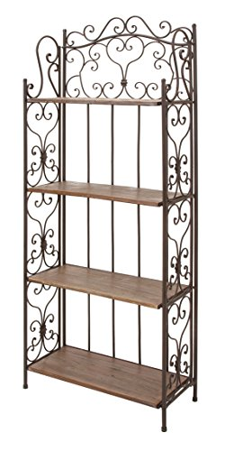 ASPIRE Bakers Rack in Brown