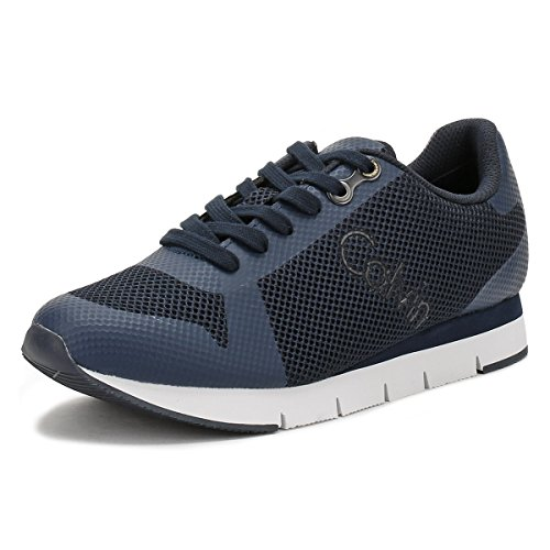 Calvin Klein Jeans Mens Blue jaques Mesh Sneakers-UK 9 by Calvin Klein