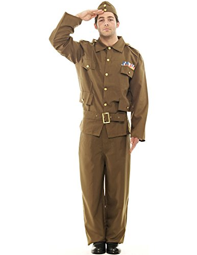 Orion Costumes Mens Home Guard Dads Army