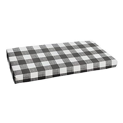1101Design Premier Prints Plaid Bristol Bench Cushion