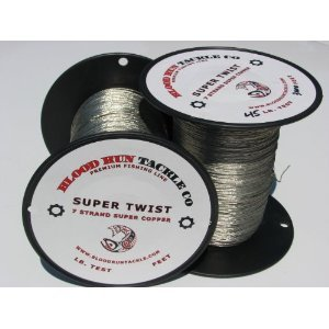 Blood Run Tackle Copper Fishing Line 1000' 45lb ()