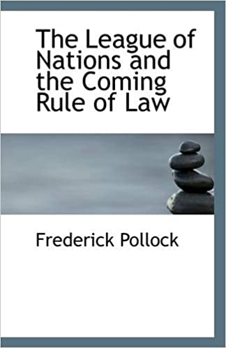 Book The League of Nations and the Coming Rule of Law