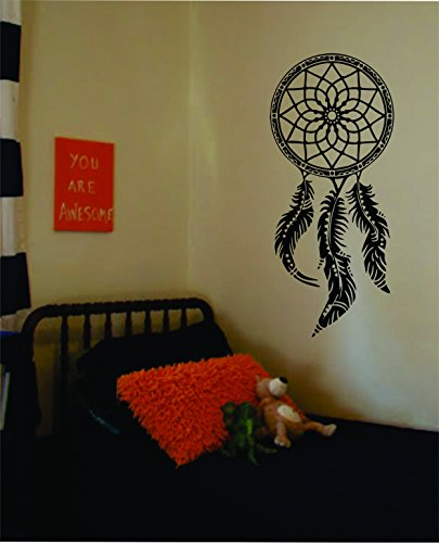 Dreamcatcher Version 2 Decal Sticker Wall Vinyl Native Am...