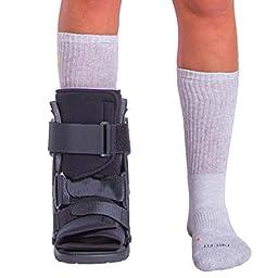 BraceAbility Stress Fracture Foot Brace Walking Boot-M