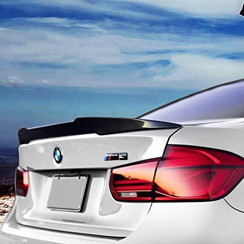 Spoiler, Carbon Fiber Rear Spoiler for BMW M3 F80 2014-18, Glued Adhesive, Easy Installed