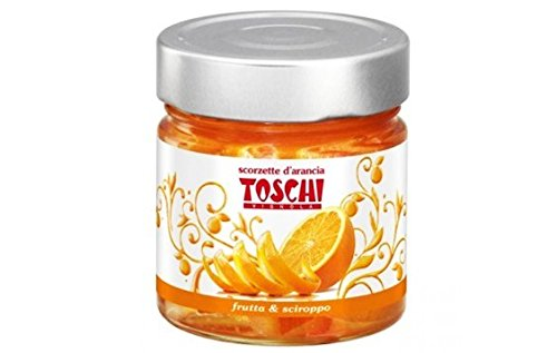 - Candied Orange Peel Slices by Toschi (10.9 ounce)