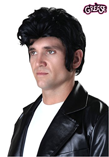 Deluxe Grease Adult Danny Wig Standard - Danny Grease Hair