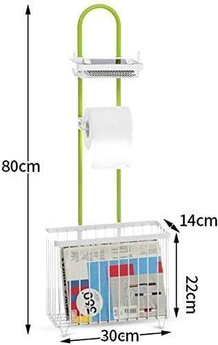トイレットペーパーホルダーホーム浴室トイレ無料パンチングトイレットペーパーホルダー携帯電話の棚(サイズ:B) APcjerp (Size : B)
