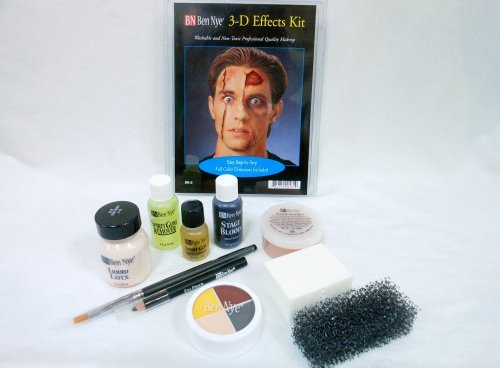 Special Effects Makeup Scars (Character Makeup Kits Ben Nye Deluxe 3-d Special Effects Kit)