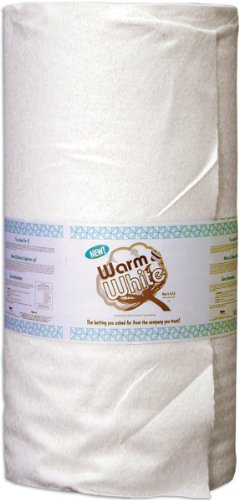 WARM COMPANY Cotton Batting By-The-Yard, Crib Size by The Warm Company