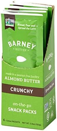 Peanut & Nut Butters: Barney Butter Snack Packs
