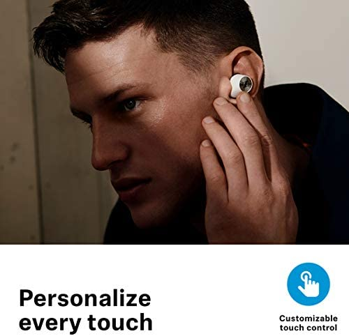 Sennheiser Momentum True Wireless 2 - Bluetooth Earbuds with Active Noise Cancellation, Smart Pause, Customizable Touch Control and 28-Hour Battery Life - White (M3IETW2 White)