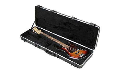 SKB 44 Pro Rectangular Hardshell Jazz/Precision Style Electric Bass Guitar Case ()