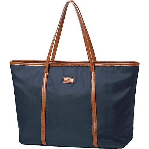 Women's Oxford Nylon Large Capacity Waterproof Lightweight Tote Shoulder Bag (Medium, ()