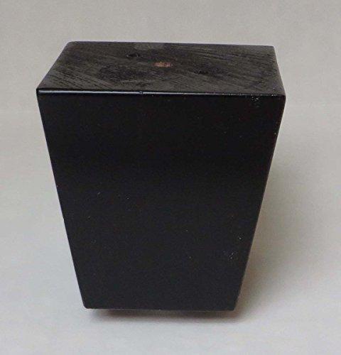 Alpha Furnishings Beautiful Pyramid Wooden Espresso Leg 3 Inch