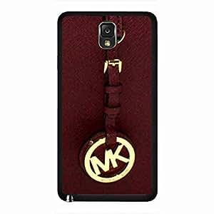 (Mk) Mickhael And Kors Phone funda,Luxury Brand Pattern Samsung Galaxy Note 3 Plastic Back funda