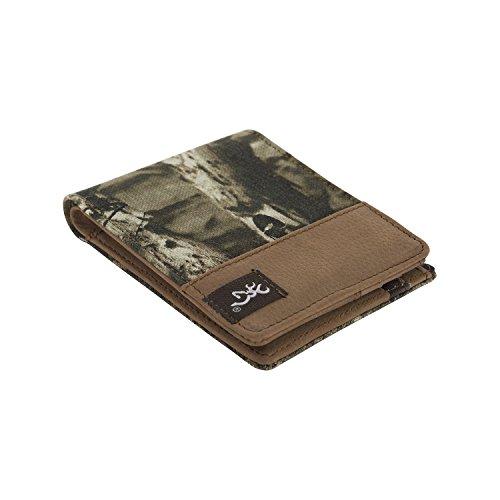 Blackhawk Army Glove (Browning Camo Bi-Fold Canvas Wallet - Leather Interior)