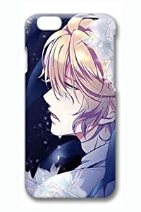 Anime Sad Boy Cute Hard Cover For iPhone 6 Plus Case ( 5.5 inch ) PC 3D Cases