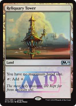 Magic: The Gathering - Reliquary Tower - Foil - 254/280 - Magic League Promo - Core 2019