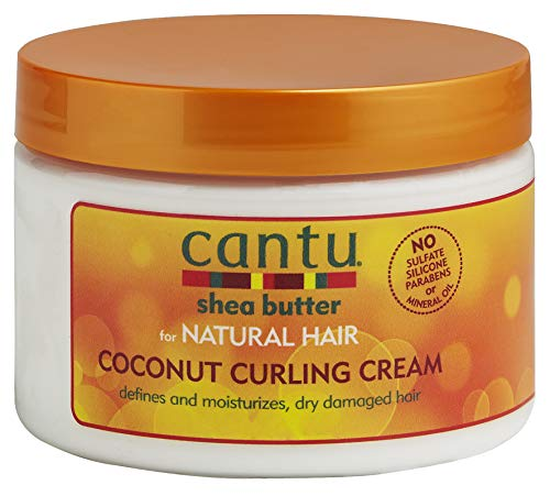Cantu Coconut Curling Cream, 12 Ounce (Best Way To Get Knots Out Of Hair)