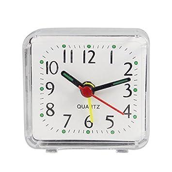 Driverder Reloj de Alarma Lindo y Compacto de Mano de Obra ...