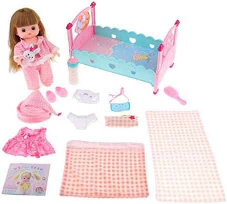 B Baosity 子ども ガールドール ごっこ遊び 人形の服 寝具セット ロールプレイ ゲーム おもちゃ 贈り物