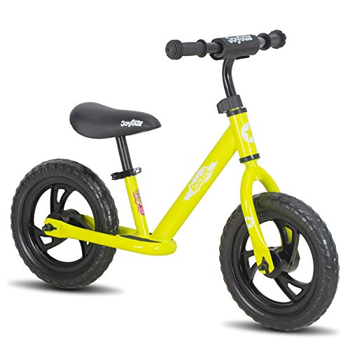 JOYSTAR 12/14 Inch Lightweight Balance Bike for 2 3 4 5 6 Years Old Toddlers, Kids, Glider Bike with Footrest and…
