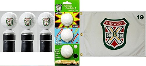 - Caddyshack Happy Hour Gift Pack BCC Bottle Stoppers Pin Flag Golf Balls