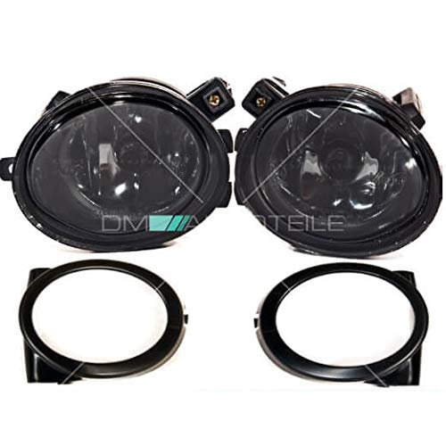 DM Autoteile E46 E39 Nebelscheinwerfer Klarglas Smoke Schwarz Kompatibel f/ür M M3 M5
