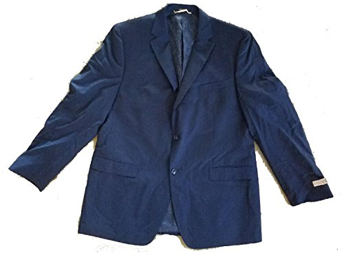 Donald Trump Signature Collection Navy Blue Pinstripe Blazer Jacket 46 - Trump Collection Signature