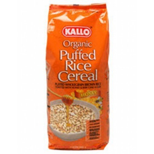 - Kallo - Org Honey Puffed Rice Cereal | 275g | BUNDLE by Kallo