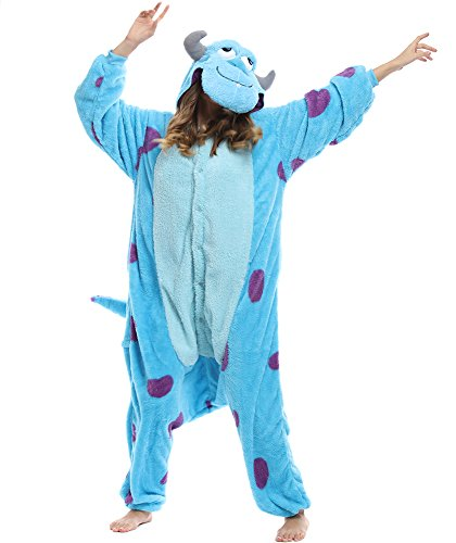 Winter Wonderland Costumes For Women (Kigurumi Pajamas- Unisex Costume Animal & Disney Character Pyjamas (L 165cm ~ 175cm (5'41