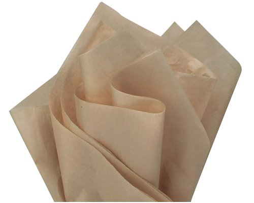 Desert Tan Tissue Paper 15in X 20in - 100 Sheets by A1BakerySupplies B016NF5118