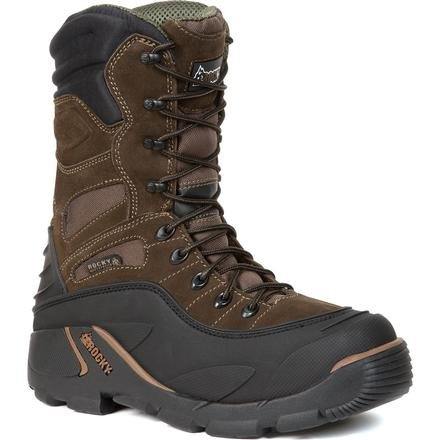 Rocky Men's Blizzard Stalker Pro Hunting Boot,Brown/Black,10 M US