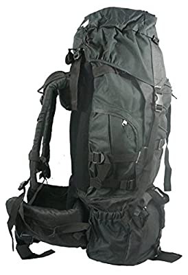 Hiking Backpack 7000 cubic Inch Internal Frame Large Camping Backpack Scout Daypack Outdoor Mountain Travel Bag w/Rain Cover