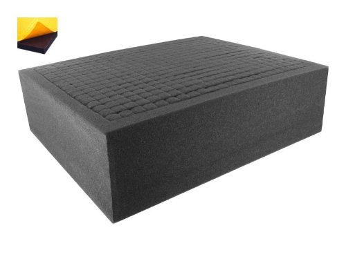 Pick Pluck Foam - FS100RS-Bundle 100 mm (4 Inch) customizable Pick Pluck Foam for all kind of using self-adhesive with separate bottom