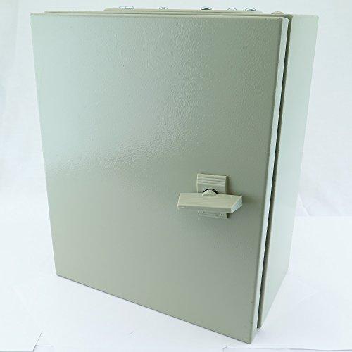 YC-16X16X6 YuCo IP65 16 GAUGE SINGLE DOOR HINGE COVER WALL-MOUNT ENCLOSURE 16