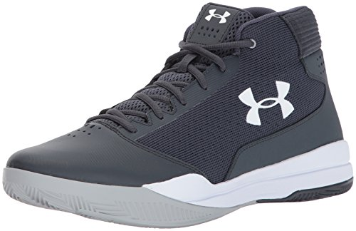 Under Armour Men's Jet 2017, Stealth Gray/Stealth Gray/White Under Armour Shoes