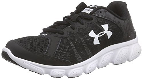 Under Armour Boys Grade School Micro G Assert 6  Black White White  5 M Us Big Kid