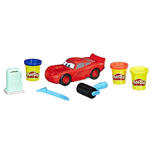 Play-Doh Disney Pixar Cars Lightning McQueen, Ages 3 and up(Amazon Exclusive) -