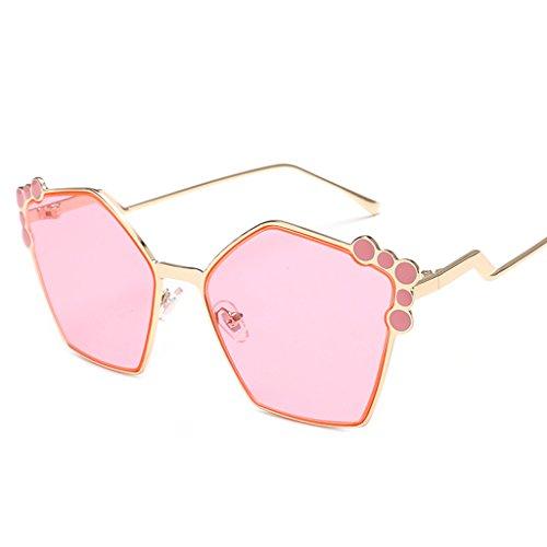 100 de 2 elegantes Protección Moda sol Color UV mujer QQB de gafas 1 Gafas sol retro gafas qwR4RZE7z