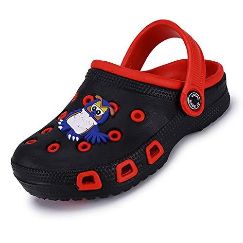 Boys Comfort Clogs - BiBeGoi Toddler Kid's Comfort Clogs Cute Garden Shoes for Boys Girls Lightweight Slide Sandals